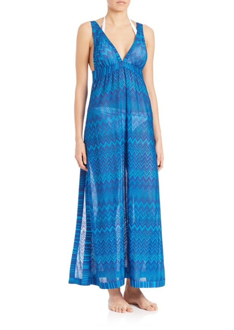 Missoni Mare Printed Maxi Dress