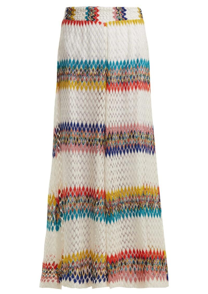 276481dd338d8 Missoni Missoni Mare Riato wide-leg knit trousers