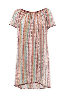 Missoni Mare Scoop-neck net cover up