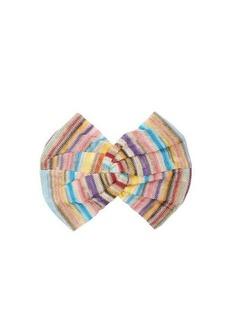 Missoni Mare Stripe-knitted headband