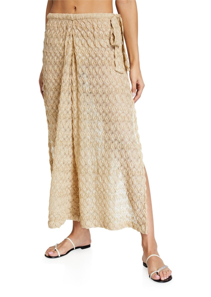 Missoni Mare Wide-Leg Coverup Pants