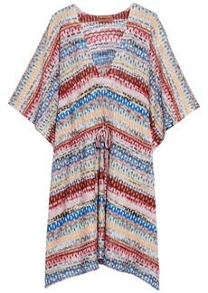 Missoni Mare Woman Mare Metallic Crochet-knit Kaftan Multicolor