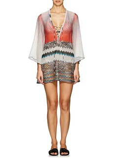 Missoni Mare Women's Striped Crochet Cover-Up Dress