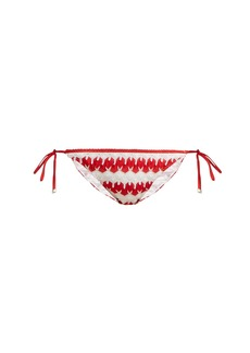 Missoni Mare Zigzag crochet bikini bottoms