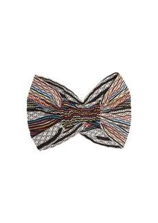 Missoni Mare Zigzag elasticated turban headband