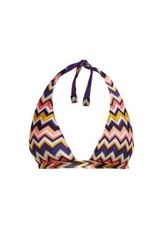 Missoni Mare Zigzag halter-neck bikini top