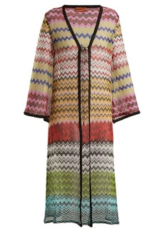 Missoni Mare Zigzag-knit cover-up