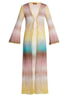Missoni Mare Zigzag knitted cover-up