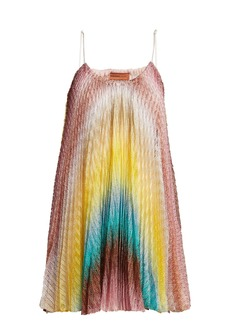 Missoni Mare Zigzag knitted dress