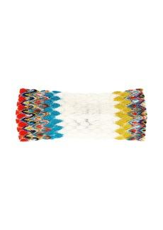 Missoni Mare Zigzag knitted headband