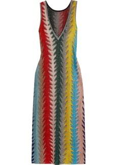 Missoni Metallic Crochet-knit Maxi Dress