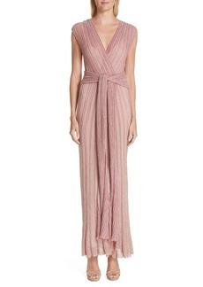 Missoni Metallic Knit Gown