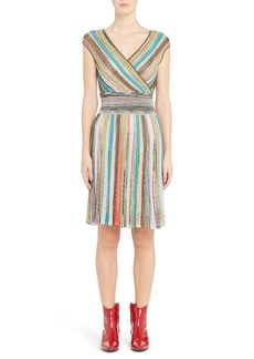 Missoni Metallic Stripe Dress