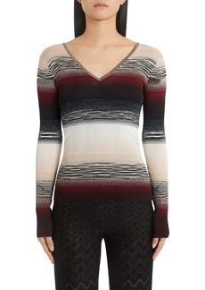 Missoni Metallic Stripe Sweater