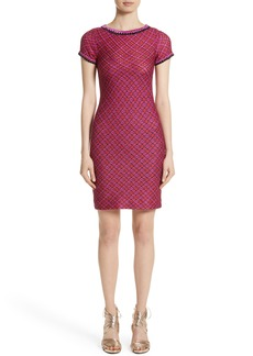 Missoni Metallic Zigzag Knit Dress