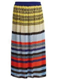 Missoni Mid-rise knit midi skirt
