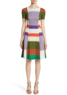 Missoni Multi Knit Flare Dress