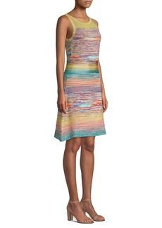 Missoni Multi-Knit Shift Dress