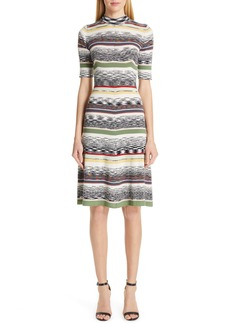 Missoni Multi Stripe Sweater Dress
