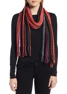 Missoni Multi Zigzag Stripe Scarf