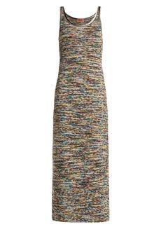 Missoni Multicoloured intarsia-knit dress