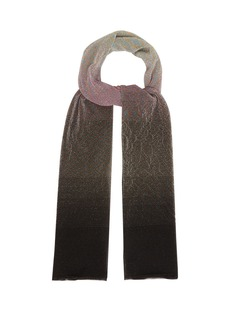Missoni Ombré fine-knit scarf
