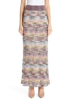 Missoni Open Knit Maxi Skirt