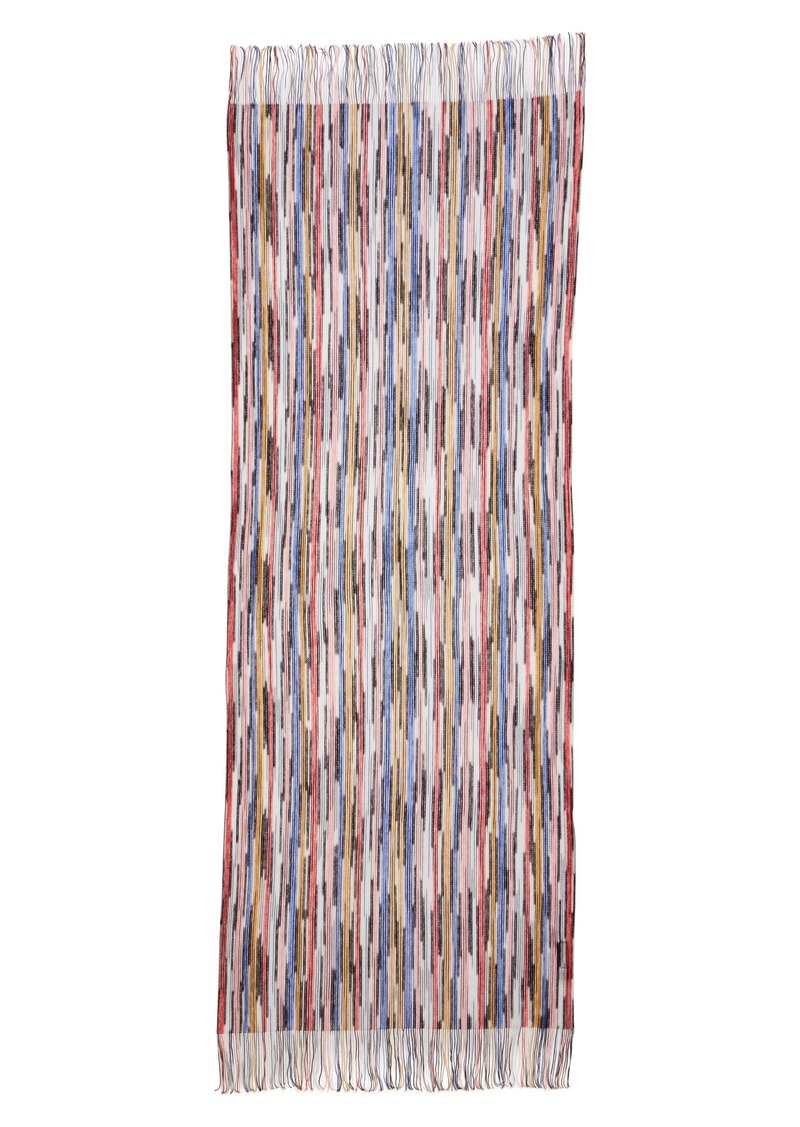 Missoni Open Knit Space Dyed Scarf
