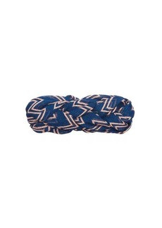 Missoni Plaited zigzag mesh headband