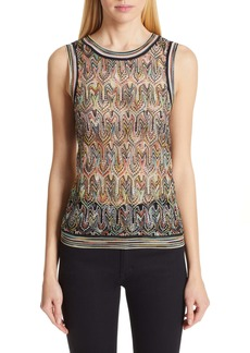 Missoni Pointelle Knit Tank