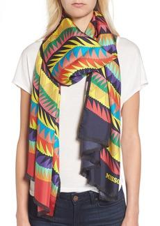 Missoni Print Silk Scarf