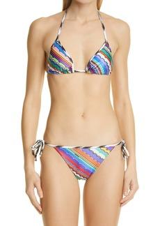 Missoni Print Two-Piece Swimsuit