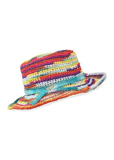 Missoni Rainbow Straw Hat