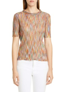 Missoni Rib Cotton Blend Top