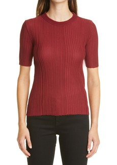 Missoni Rib Mock Neck Top