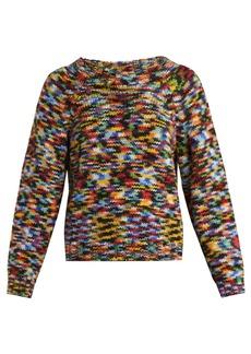 Missoni Round-neck alpaca-blend sweater