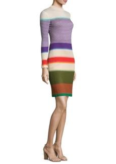 Missoni Silk-Blend Colorblock Dress