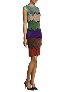 Missoni Sleeveless Colorblock Sheath Dress