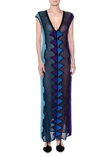 Missoni Sleeveless Knit Maxi Dress