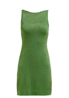 Missoni Sleeveless lamé mini dress