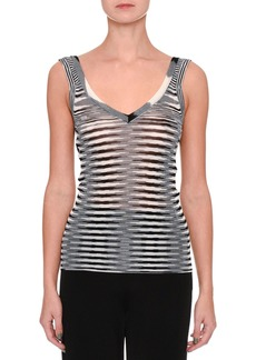 Missoni Sleeveless Space-Dye Tank Top
