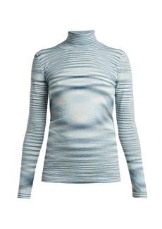 Missoni Space-dye wool roll-neck sweater