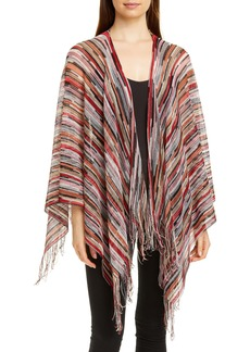 Missoni Space Dyed Stripe Wool Cape