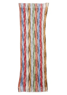 Missoni Space Dyed Stripe Wool Scarf