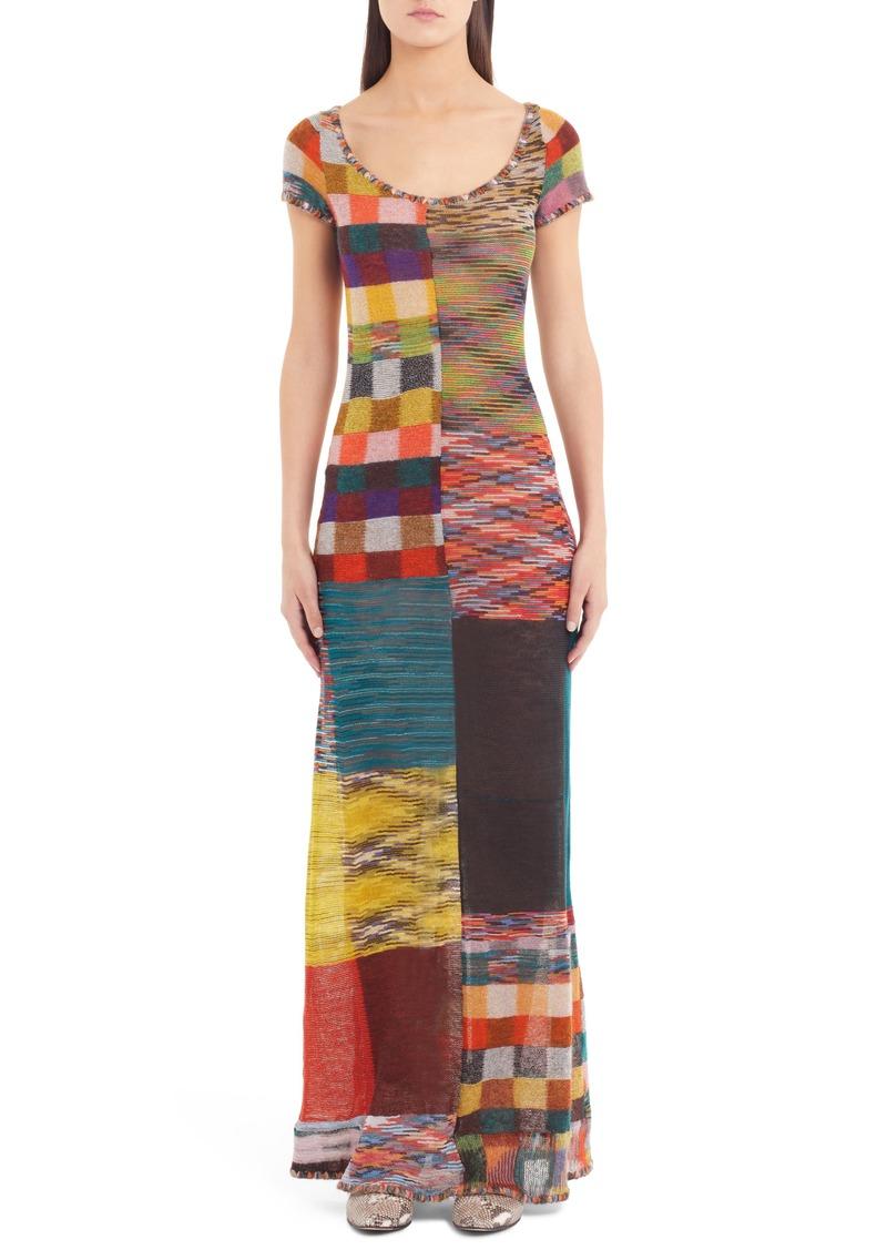 e6f5ba098e7 SALE! Missoni Missoni Stretch Wool Maxi Dress