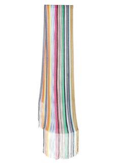 Missoni Stripe Fringe Scarf