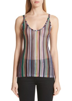 Missoni Stripe Knit Tank
