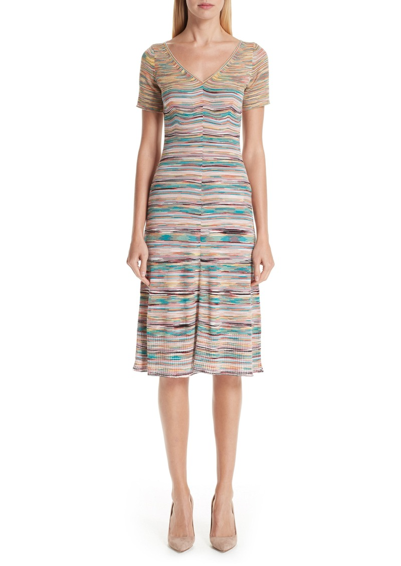 Missoni Stripe Wool Blend Dress
