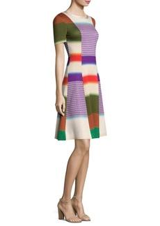 Missoni Striped Colorblock Dress