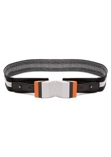 Missoni Striped elasticated-knit belt
